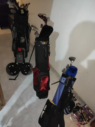Palos De golf, Pelotas,Carrito,Regalo guante