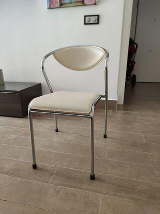 Juego 4 sillas cocina