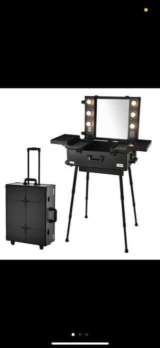 Tocador, maletín, silla maquillaje D'Orleac