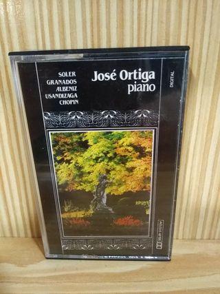 Cassette José Ortega Piano