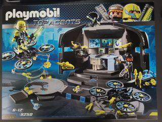 Playmobil Centro de mando Dr. DroneTop