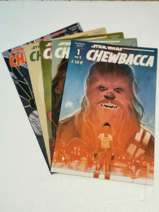 CHEWBACCA COMIC 5/5 PLANETA COMIC STAR WARS
