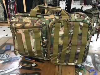 Maletín mochila estilo militar