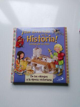 Libro ¡Que divertida es la Historia!
