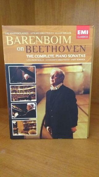 Beethoven 32 sonatas piano completas Barenboim