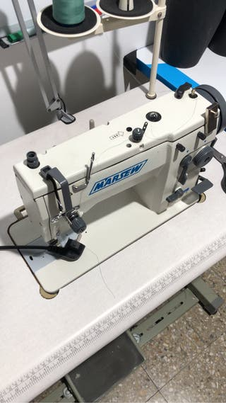 Máquina de coser industrial zig-zag