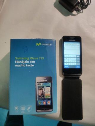 Teléfono móvil Samsung Wave 723