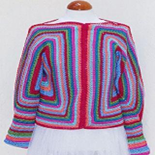 Jersey AMAZÓN multicolor.
