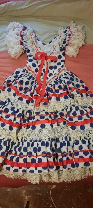 vestido de gitana 40 años