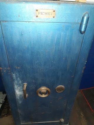 caja fuerte antigua Fichet