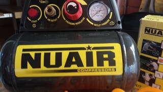 Compresor NUAIR 6L portátil + pistolas