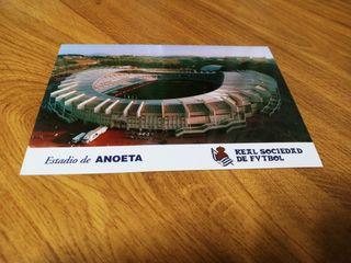 Postales OFICIALES Estadios de fútbol.