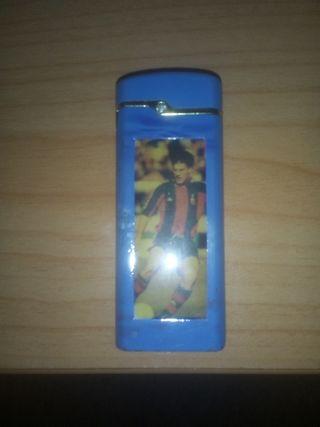 mechero antiguo del futbol club Barcelona