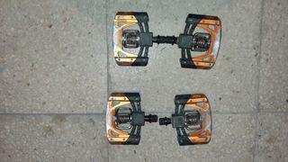 pedales automáticos crank brothers mallet