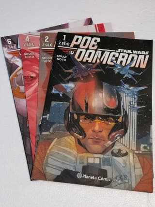POE DAMERON STAR WARS PLANETA COMIC