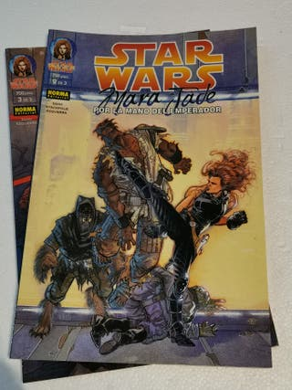 MARA JADE STAR WARS NORMA COMICS