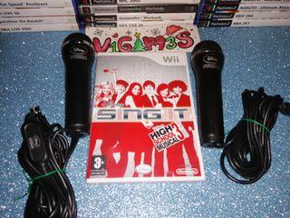 Micrófonos Disney Interactive Studios Nintendo Wii