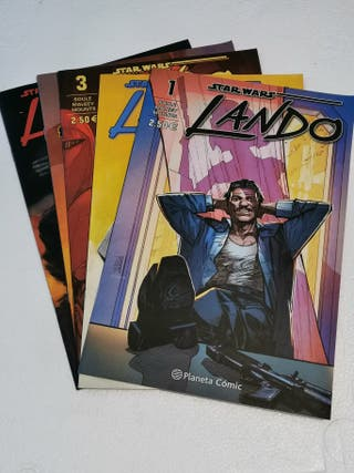 STAR WARS LANDO PLANETA COMIC