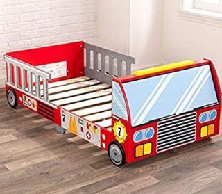 Cama camión bomberos