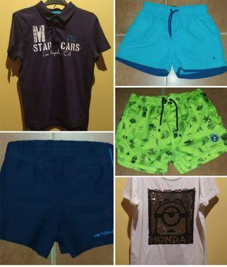 Lote ropa verano niño 9-10 años