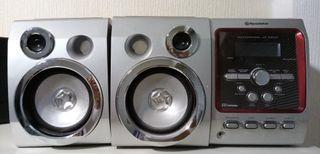 Minicadena musica Roadstar CD-Radio