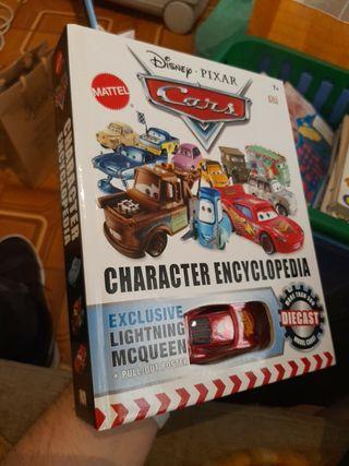 Cars Character Encyclopedia LIBRO con McQueen excl