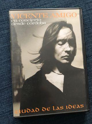 Dvd guitarra Vicente Amigo, Ciudad de las Ideas