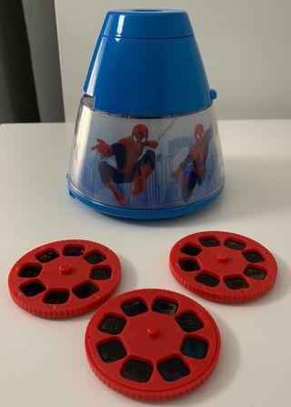 Lámpara proyector Spiderman Philips