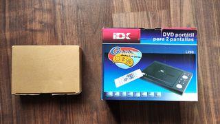 Reproductor dvd con pantalla y juegos para coche