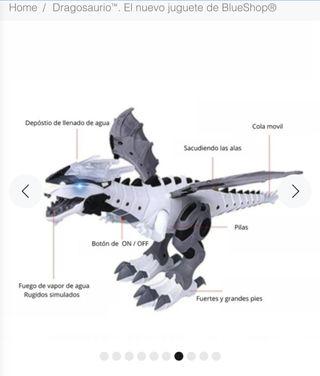 dragon que escupe vapor totalmente nuevo