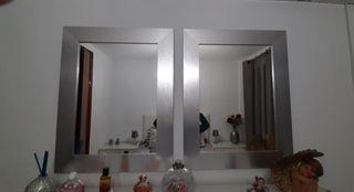 Espejos color plata