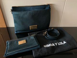 Conjunto de bolso y neceser (ByL)