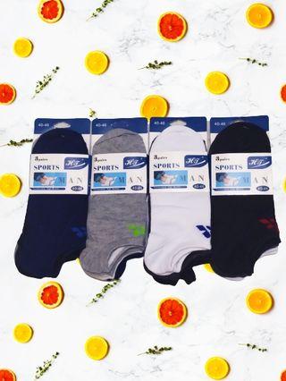 calcetines hombre deportivo invisible talla única