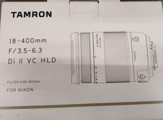 OBJETIVO AMRON 18-400mm NIKON NUEVO