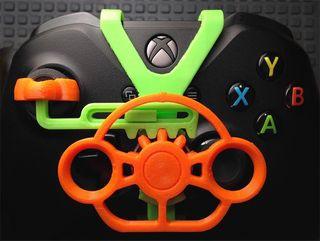 Volante para mando de Xbox 3D