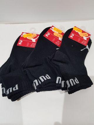 6 pares de calcetines Puma originales