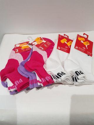 10 pares de calcetines Puma originales