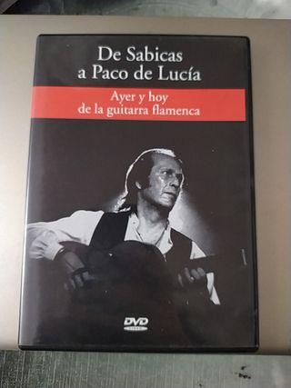 DVD ayer y hoy de la guitarra flamenca