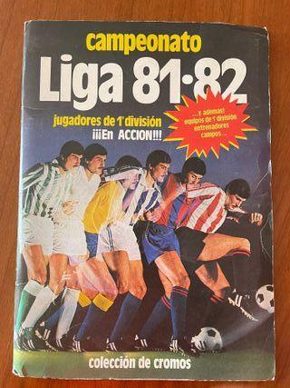 Album Liga Este 81-82