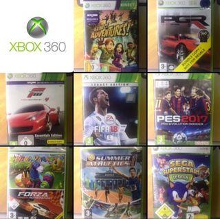 Juegos variados de XBOX 360. Preguntar precios.