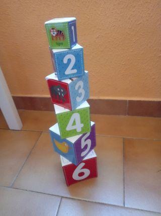 juego de cubos