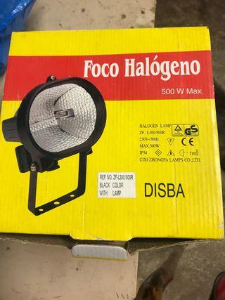 Foco halógeno 500w