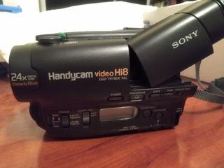 Cámara video SONY HANDICAM Hi8 CCD-TR780E PAL