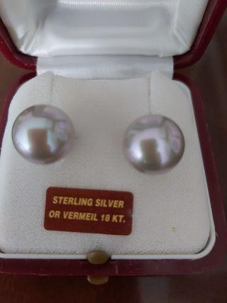 pendientes perlas majorica nuevos
