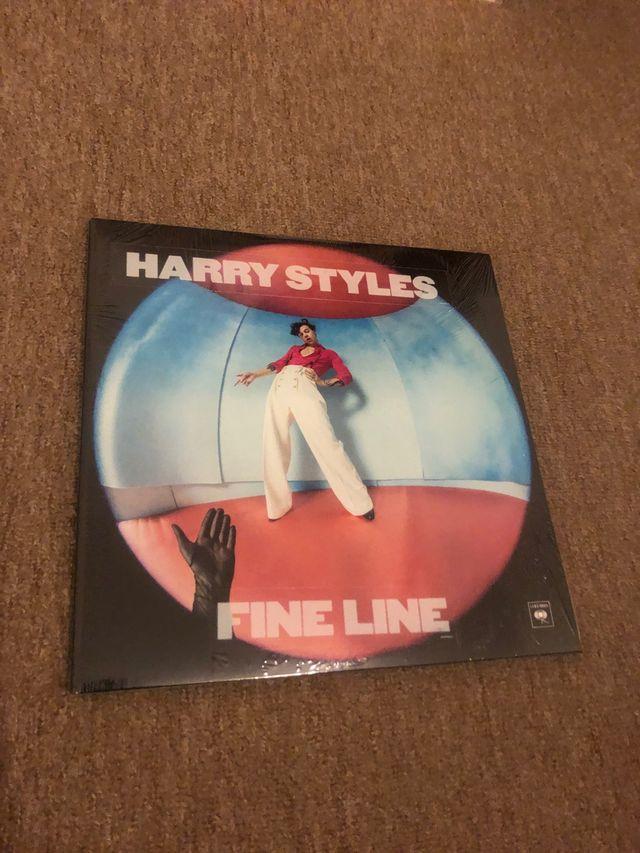 Harry styles fine line vinyl LP