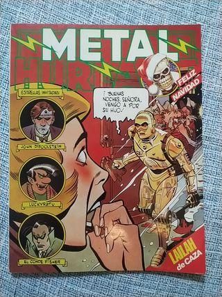 Metal Hurlant n°21. Ciencia ficción y adultos.