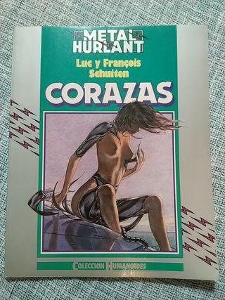 Metal Hurlant. Corazas. cómic adulto y sci-fi