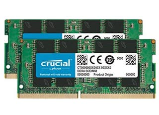 Módulos memoria portátil 32GB RAM (2*16) 2666 Mhz
