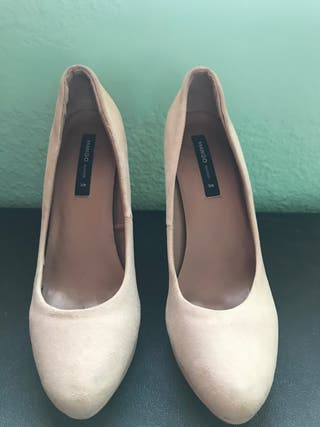 Zapatos Beige Mango 39