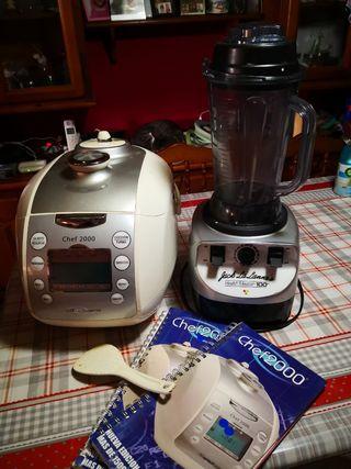 Robot de cocina chef 2000 +health Master 100